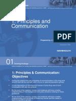 principle of communication