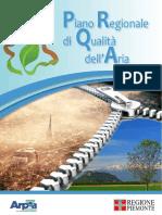 Piano Regionale Di Qualità Dell'Aria Piemonte