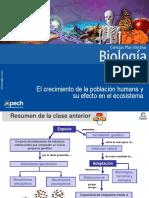 Clase 14 El Crecimiento de La Población Humana y Su Efecto en El Ecosistema 2016
