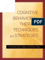 CBT Techniques and Strategies (APA, 2016)