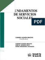 Fundamentos de servicios sociales LIBRO