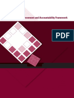 School Improvement and Accountability Framework