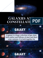 Galaxies and Constellation