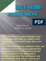 English 6 Subject-Verb Agreement