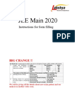 Jee Main-20 Form Filling.ppt