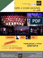 Locandina Gospel LIZARD
