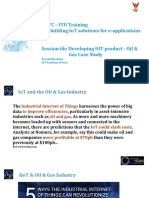 Developing IOT Product - Oil Gas Case Study