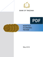 Tanzania Monthly Economic Review (MER) - May 2018