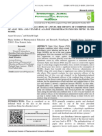 PHARMACOLOGICAL EVALUATION OF ANTI-ULCER EFFECTS OF COMBINED DOSES OF ALOE VERA AND VITAMIN-E AGAINST INDOMETHACIN INDUCED PEPTIC ULCER MODEL.pdf
