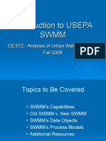 Introduction to USEPA SWMM
