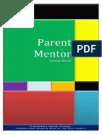 parent mentor training manual - 21st century parenting module