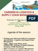 Careers & Future in L&SCM Industry
