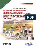 Bantuan SMK Yang Direnovasi Direvitalisasi Tahun 2019 BABUN