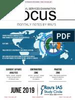 06. Rau's Focus June 2019 [Upscpdf.com]