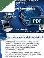 U2 METROLOGIA - CONTROL AUTOMATICO