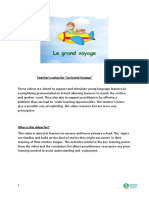 Notes Grand Voyage