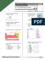 Examen - Química - II Ciclo- Diciembre