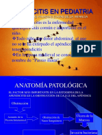 Apendicitis en Pediatría