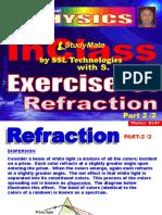 Physics Ex-51 Refraction-2.ppt