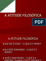 A Atitude Filosófica