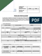 Formatos Postulacin 1 2 y 3 ING.civiL
