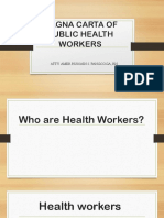 Magna Carta of Public Health Workers