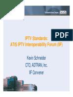 K. Schneider, Adtran - IPTV