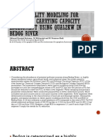 Water quality modeling for pollutant carrying capacity assessment of Bedog River (1).pptx