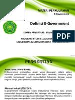 Materi 1 E Government(Fix)