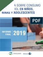 ENCUESTA SOBRE CONSUMO DE ALCOHOL EN NIÑOS, NIÑAS Y ADOLESCENTES