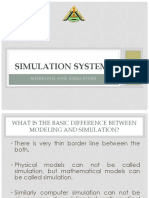 Modeling and Simulation 2