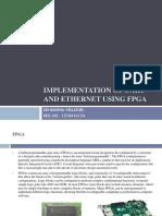 Implementation of Uart and Ethernet Using Fpga (1)