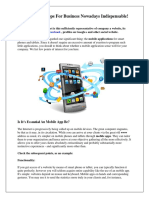 Mobile Apps for Business Nowadays Indispensable-converted