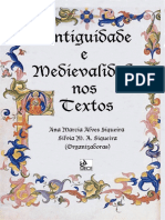 Antiguidade e medievalidade