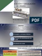 Deshidratacion y Desalacion de Crudo