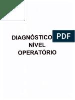 Diagnóstico Do Nível Operatório