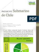 Relieve Submarino de Chile