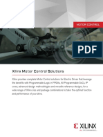 Motor Control Product Briefs