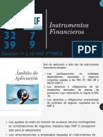 Nic39 Nic32 Niif7 Niif9 Instrumentos Financieros