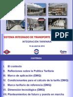 Sistema integrado de transporte