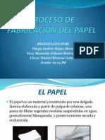 Proceso de Fabric a Cindel Pap El