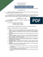 Ordinance No. 4 s. 2007 Childrens Code
