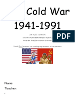 The Cold War Course Booklet