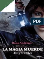 La magia muerde - Ilona Andrews.pdf