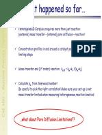 Lecture on pore diffusion