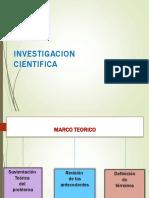 Diapositivas Marco Terico en La Investigacion
