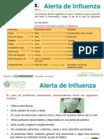 Alerta Influenza Oct 2009