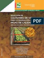 Seleccion de cultivares de vid para pasas.pdf
