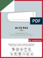 Manuale Uso e Installazione ALYS R32_3