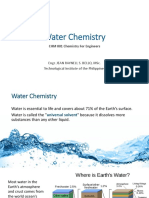 Water Chemistry 1